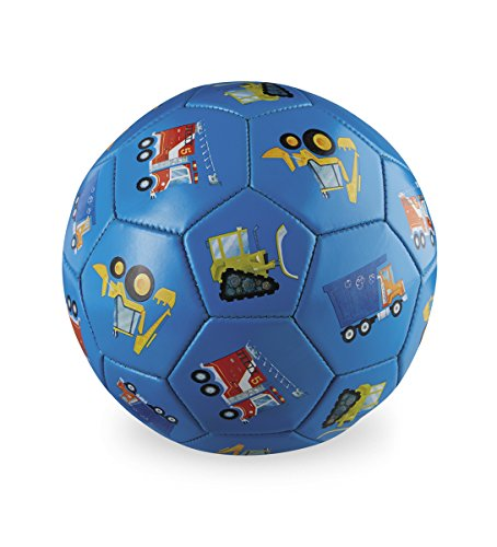 Crocodile Creek Vehicles Blue Kids Soccer Ball Size 3/7 inches Toy 2212-8