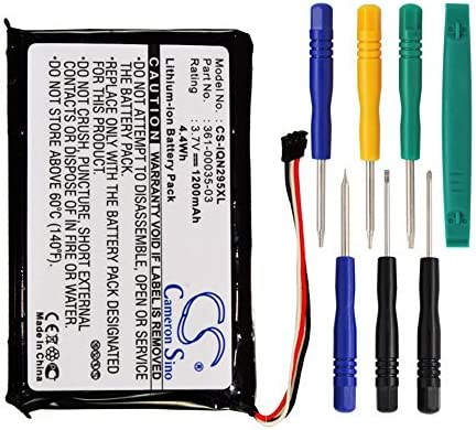 1200mAh Replacement Battery for Garmin Nuvi 2597 LMT