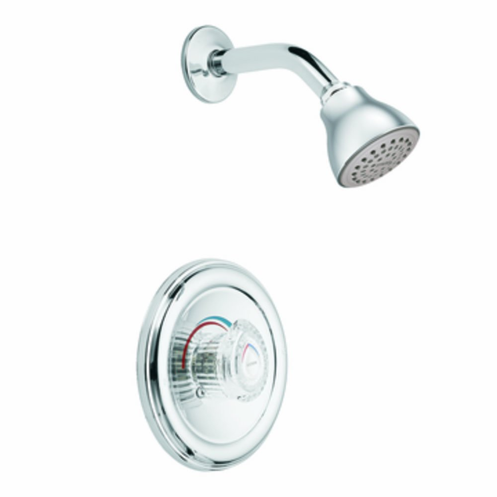 Moen T171 Legend Moentrol Shower Only Faucet, Chrome - Single Handle ...