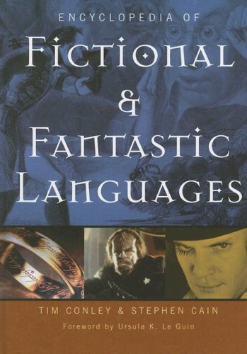 Encyclopedia of Fictional and Fantastic Languages by Greenwood
