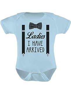 TeeStars - Ladies I Have Arrived Bowtie Funny Baby Boy Bodysuit Baby Onesie c5ea9ccb4
