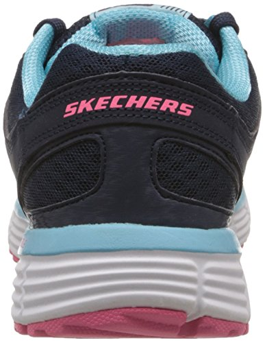 Skechers Womens Behendigheid Perfect Fit 11903 Trainingsschoen Marine / Blauw