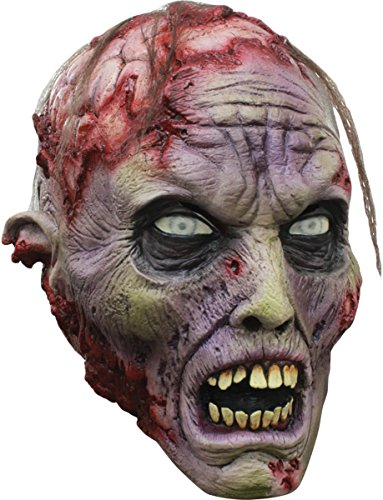 Exposed Brains Zombie Mask ()