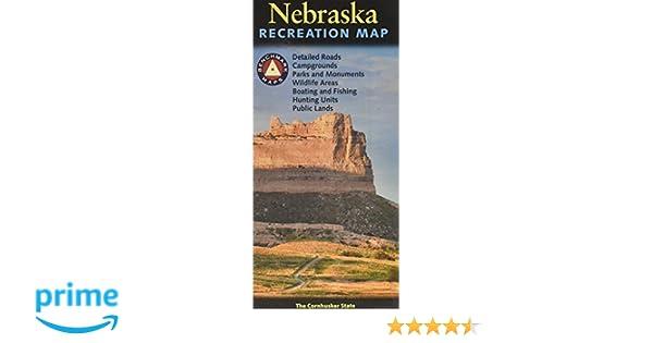 Badlands Nebraska Map.Nebraska Recreation Map Benchmark Maps 9780783499130 Amazon Com