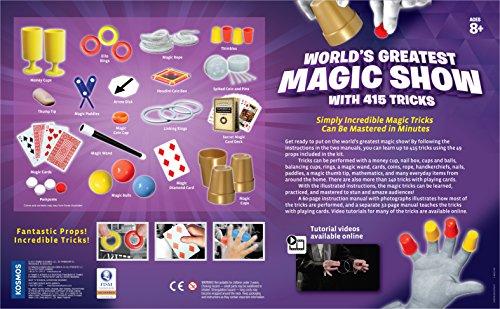 Thames & Kosmos World's Greatest Magic Show with 415 Tricks Magic Set by Thames & Kosmos (Image #2)