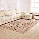 Modern minimalist European rug / rectangular thick encryption living room sofa bed table bed side mats ( Color : A , Size : 120170cm )