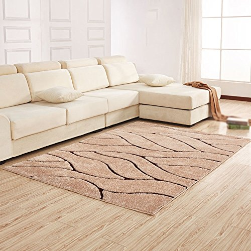 Modern minimalist European rug / rectangular thick encryption living room sofa bed table bed side mats ( Color : A , Size : 120170cm ) by CarPet