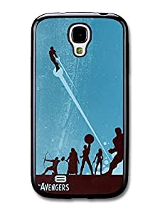 Avengers Superheroes Comic Illustration case for Samsung Galaxy S4 A403 by Maris's Diary