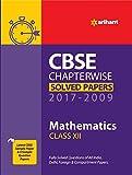 CBSE CHAPTERWISE SOLVED PAPERS CLASS 12 MATHEMATICS (2017-2009) price comparison at Flipkart, Amazon, Crossword, Uread, Bookadda, Landmark, Homeshop18
