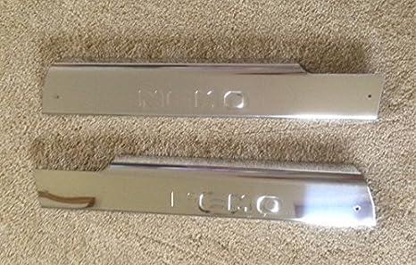 OMTEC placa de umbral de la puerta Interior para Citroen Nemo 2704 300208 (agujeros) Aftermarket partes: Amazon.es: Coche y moto