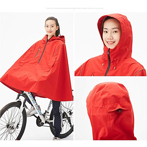 Outdoor Donne Geyao L color Uomini Per Sella Adulti E Size Impermeabile Bicicletta Red In Bike Red Impermeabili A Mountain dEOTqW0w0