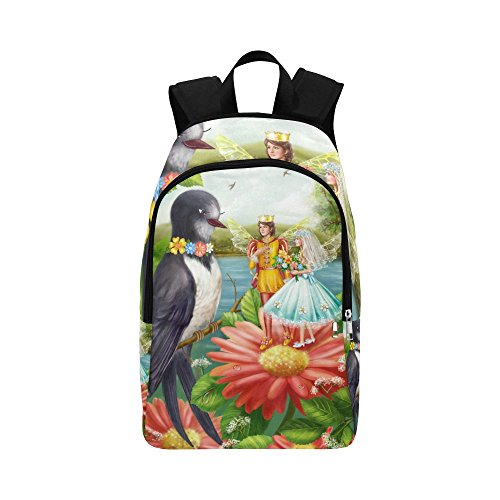 your-fantasia Casual Daypack Travel Backpack Wedding Thumbelina Nylon by your-fantasia