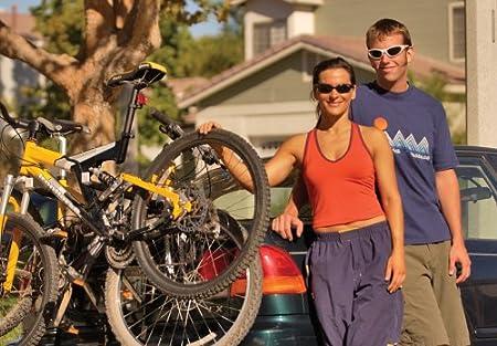 Allen Sports Deluxe 2-Bike Trunk Mount Rack 102DB