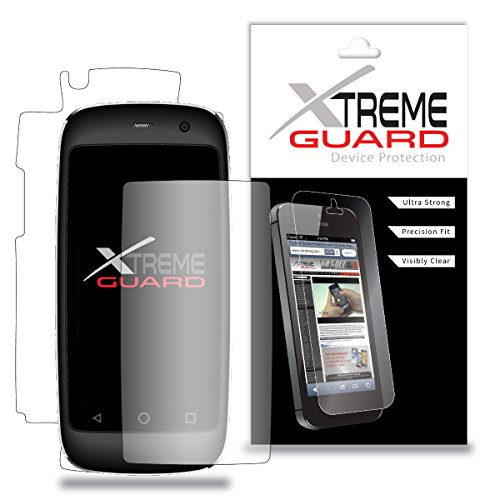 Premium XtremeGuard Full Body Screen Protector Front and Back for Posh Mobile Micro X S240 (Ultra Clear)