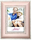 Lilian PC pink photo frames(5 x 7in), Choose PS polymer material environmental protection(3175-C2T-b)