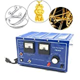 Gold Plating Machine, 30A 110V Platinum Gold Silver Plating Machine Jewelry Plating Rectifier Jewelry Plater Electroplating Rectifier