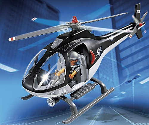 Playmobil - 5563 - Jeu De Construction - Hélicoptère Hélicoptère Hélicoptère Avec Policier   Outlet Online Store  eb7351