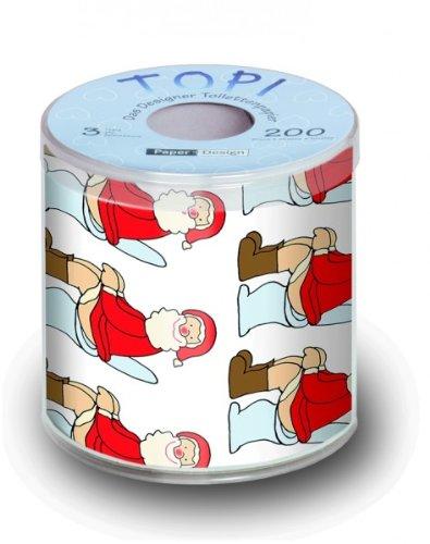 Toilettenpapier Weihnachten
