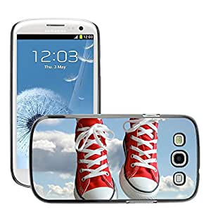 Super Stellar Slim PC Hard Case Cover Skin Armor Shell Protection // M00049461 creative sneakers red aero // Samsung Galaxy S3 i9300