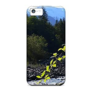 High Quality Saraumes Glacier Creek Mount Baker Skin Case Cover Specially Designed For Iphone - 5c