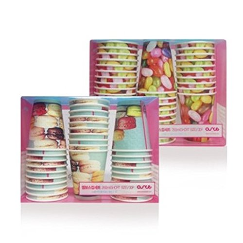 9oz Macaron Jelly Bean Paper Durable Hot Cups  - Ideal Cup f