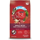 Purina ONE SmartBlend Natural Small Bites Beef & Rice Formula Adult Dry Dog Food - 8 lb. Bag