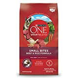 Purina ONE SmartBlend Natural Small Bites Beef & Rice Formula Adult Dry Dog Food – 8 lb. Bag Review