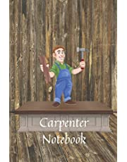 Carpenter Notebook: Sketch and note book Professional's notebook Save your drawing.