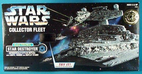 Star Wars Collector Fleet Electronic Star Destroyer from Kenner