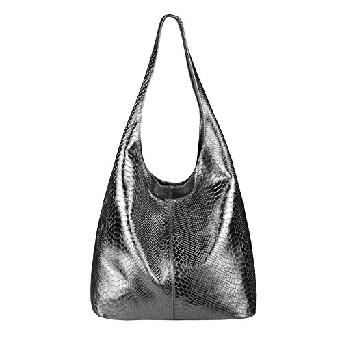 Women Ca Cm metallic Obc couture Only Grau beautiful Black schlange For Schwarz 43x32x17 Shoulder bxhxt Bag H71Yq7vx