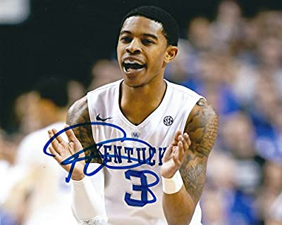 Autographed Tyler Ulis University of Kentucky Wildcats 8x10 photo