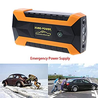 cici store 12V 69900mAh 4 USB Portable Car Jump Starter Pack Booster Charger Battery Power Bank