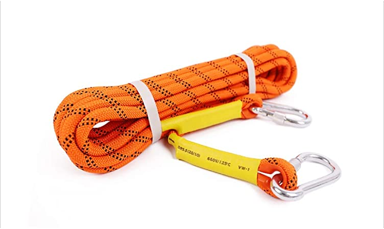 QSJY Climbing Ropes Cuerda para Escalada en Roca 8MM / 10.5 ...