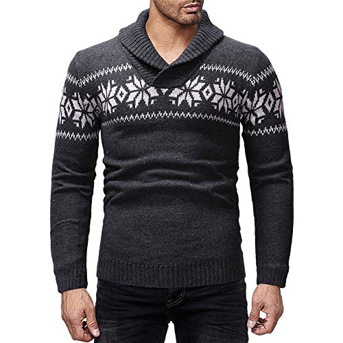 DaySeventh Men Christmas Autumn Winter Pullover Knitted Top Sweater Outwear Blouse for $<!--$16.59-->
