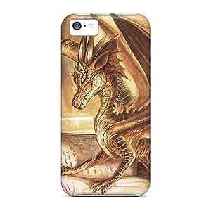 XiFu*MeiPerfect Gold Dragon Cases Covers Skin For iphone 6 4.7 inch Phone CasesXiFu*Mei
