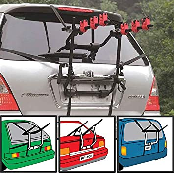 Rear Mount for HONDA CIVIC ESTATE ALL YEARS 2 Bike  Carrier Car Cycle Rack
