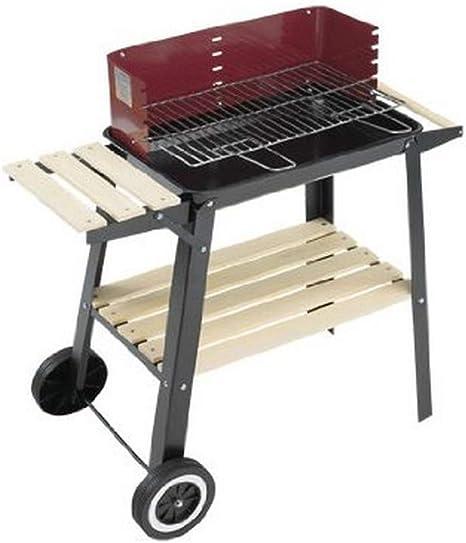 Grill Chef 0566 - Barbacoa con ruedas (54,33 cm