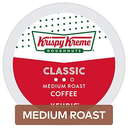 Krispy Kreme Doughnuts Classic Coffee, Single Serve K-Cup Pod, 72- Count, Packaging May Vary