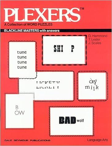 Plexers Dave Hammond Tom Lester Joe Scales 9780866511100 Amazon Com Books