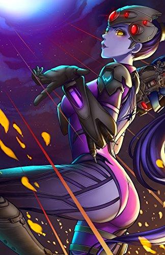 (Overwatch - Widowmaker Character Poster)