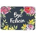 """Bye Felicia Doormat Entrance Mat Floor Mat Rug Indoor/Front Door/Bathroom/Kitchen and Living Room/Bedroom Mats Rubber Non Slip (23.6""""x15.7"""",L x W)"""