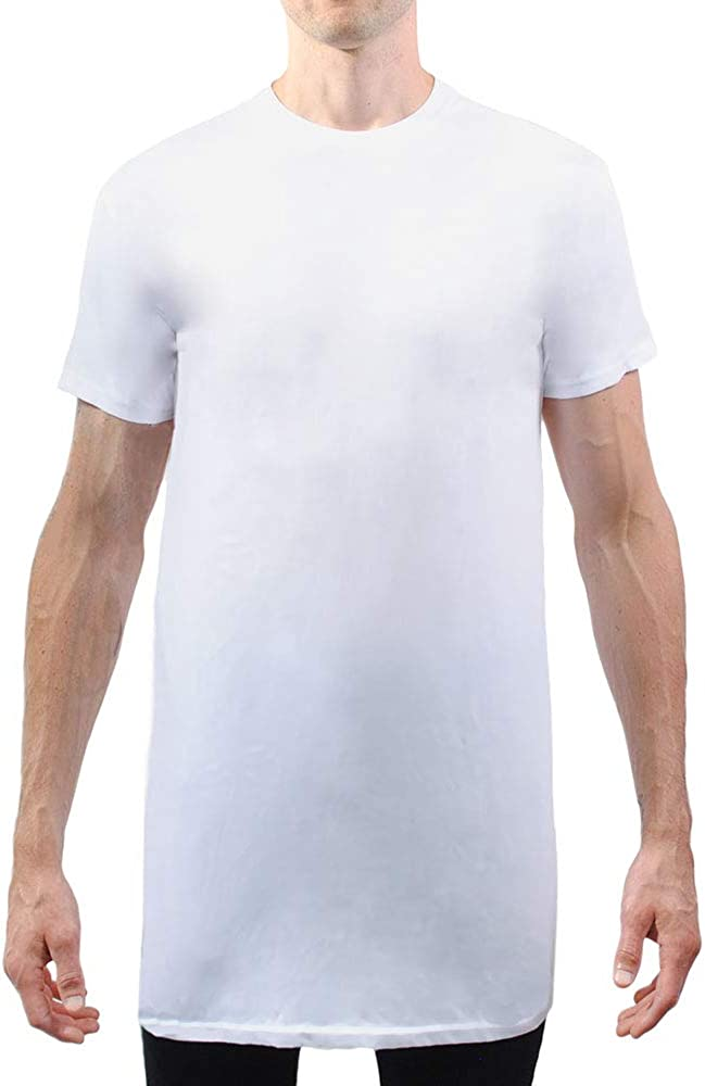 Have It Tall Men's Tall Extra Long Blend T Shirt