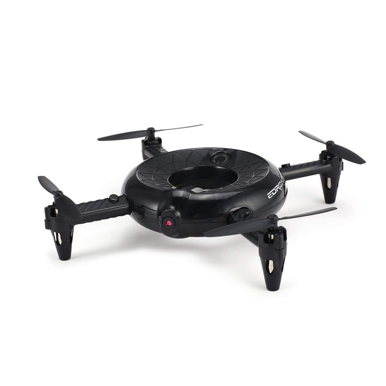 Dailyinshop Utoghter Drone Smart RC Quadcopter mit WiFi-Kamera Echtzeit Höhenlage (Farbe: weiß)