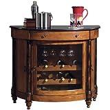 howard miller 695 016 merlot valley wine bar console bar corner furniture