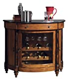 Cheap Howard Miller 695-016 Merlot Valley Wine & Bar Console