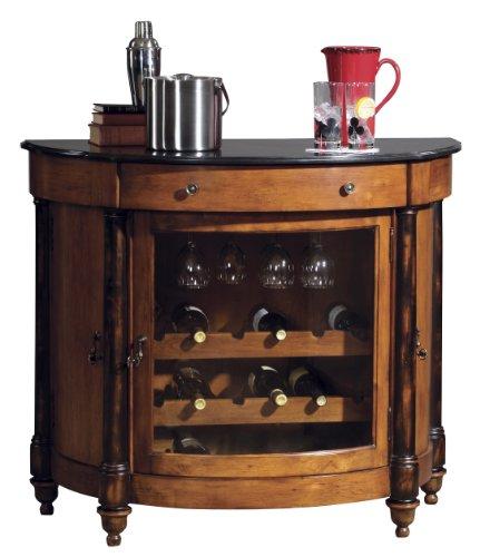 Howard Miller 695-016 Merlot Valley Wine & Bar Console (Bar Cart Console)