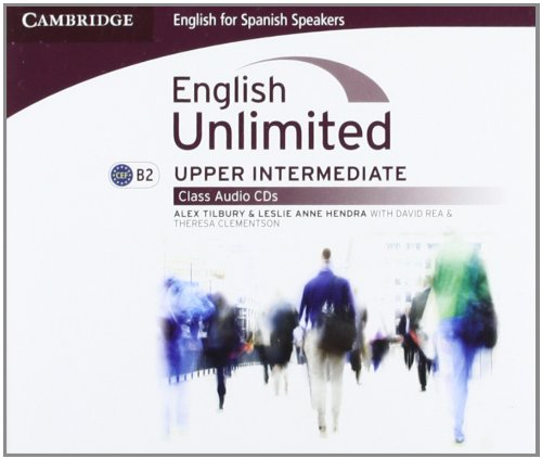 Download English Unlimited for Spanish Speakers Upper Intermediate Class Audio CDs (3) PDF