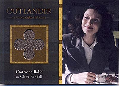 2016 Outlander Season 1 Trading Cards Wardrobe Card M04 Caitriona Balfe as Claire Randall