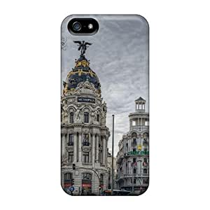 New Madrid Hdr Skin Case Cover Shatterproof Case For Iphone 5/5s