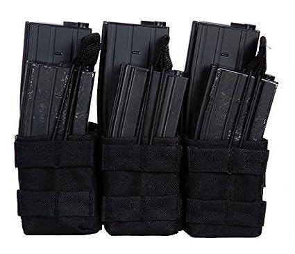 Portacargadores con 3 bolsillos para 6 cargadores M4 M16 101 ...